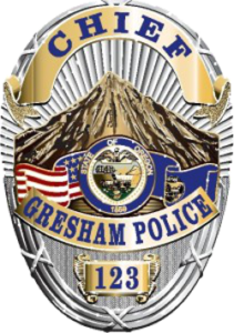 Gresham PD Badge