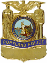 Portland Police Badge