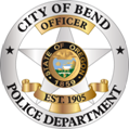 Bend Police Badge